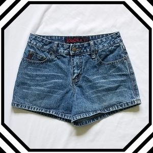 Mudd High Rise Jean Shorts